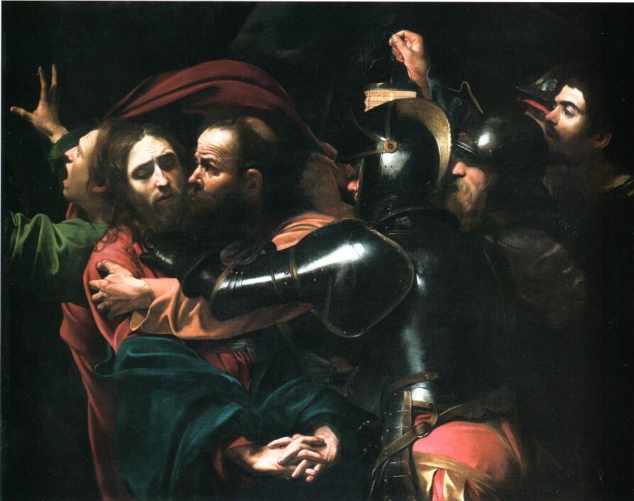 カラヴァッジョ キリストの捕縛