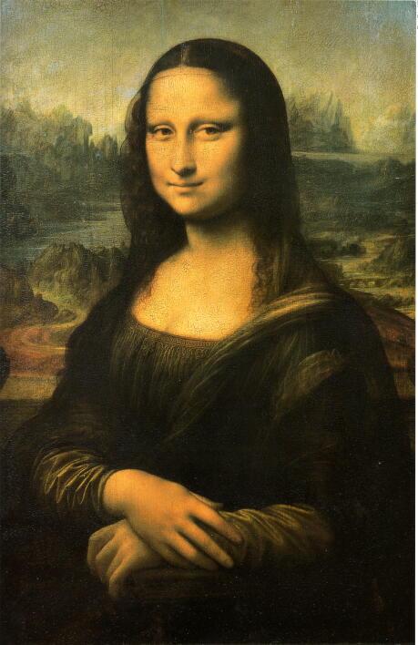 レオナルド・ダ・ヴィンチ 「モナ・リサ」