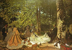モネ 草上の昼食